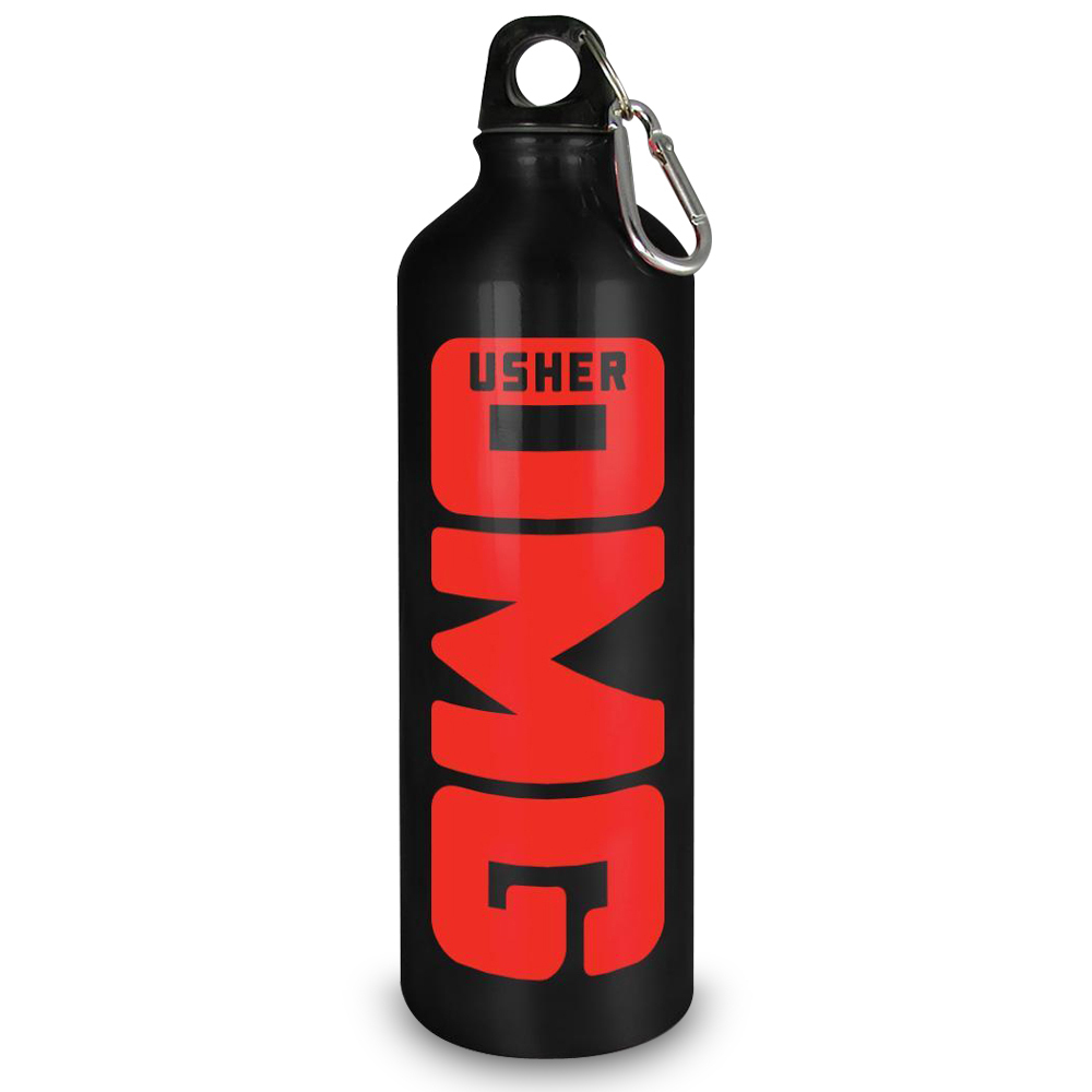 Usher OMG Aluminum Water Bottle