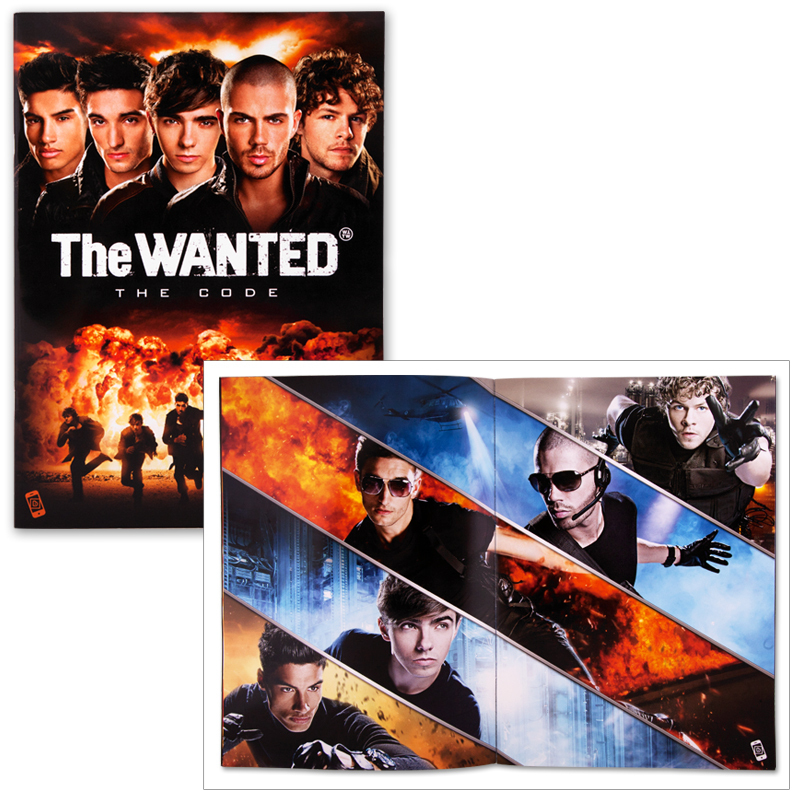 The Wanted 2011 Tour Program