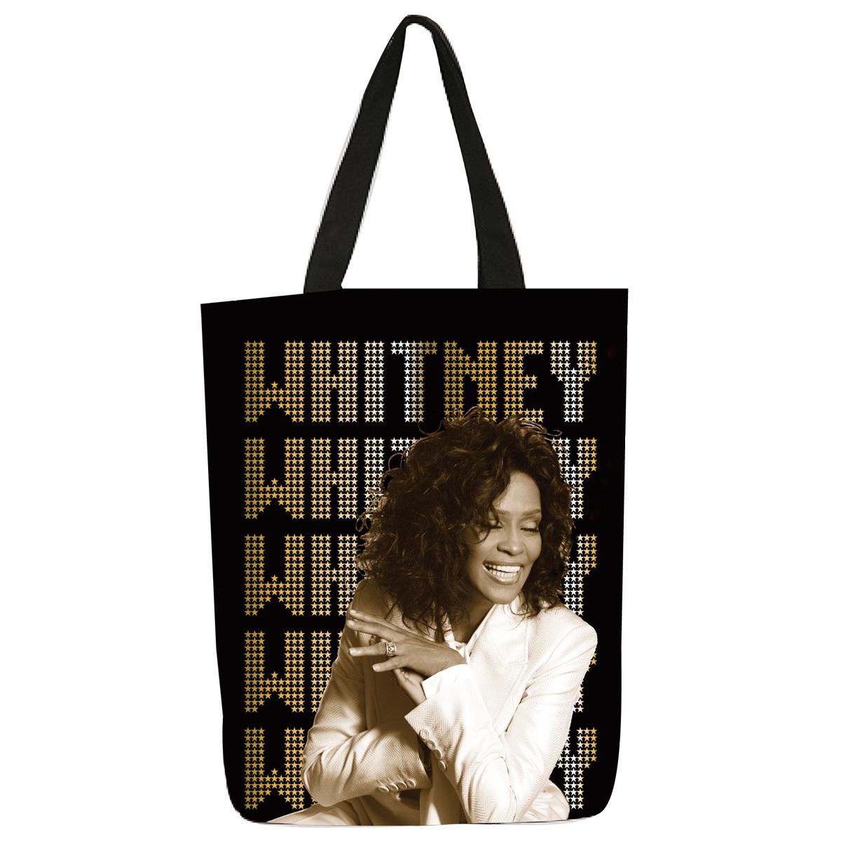 Whitney Houston Dots Logo Tote Bag