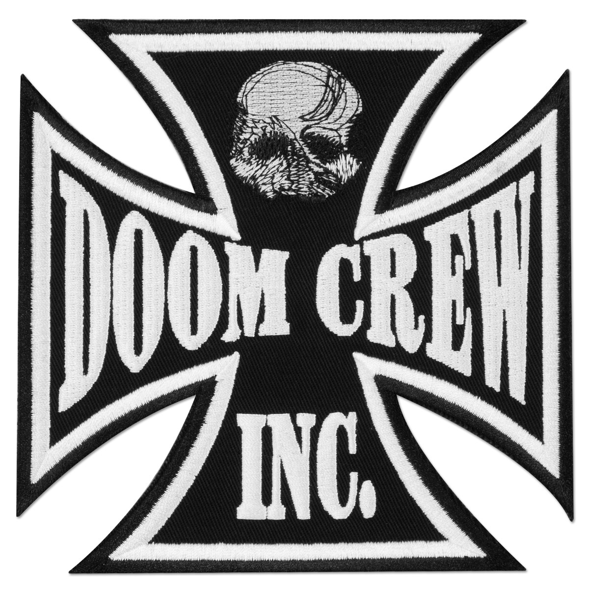 Black Label Society Doom Crew Iron Cross Patch
