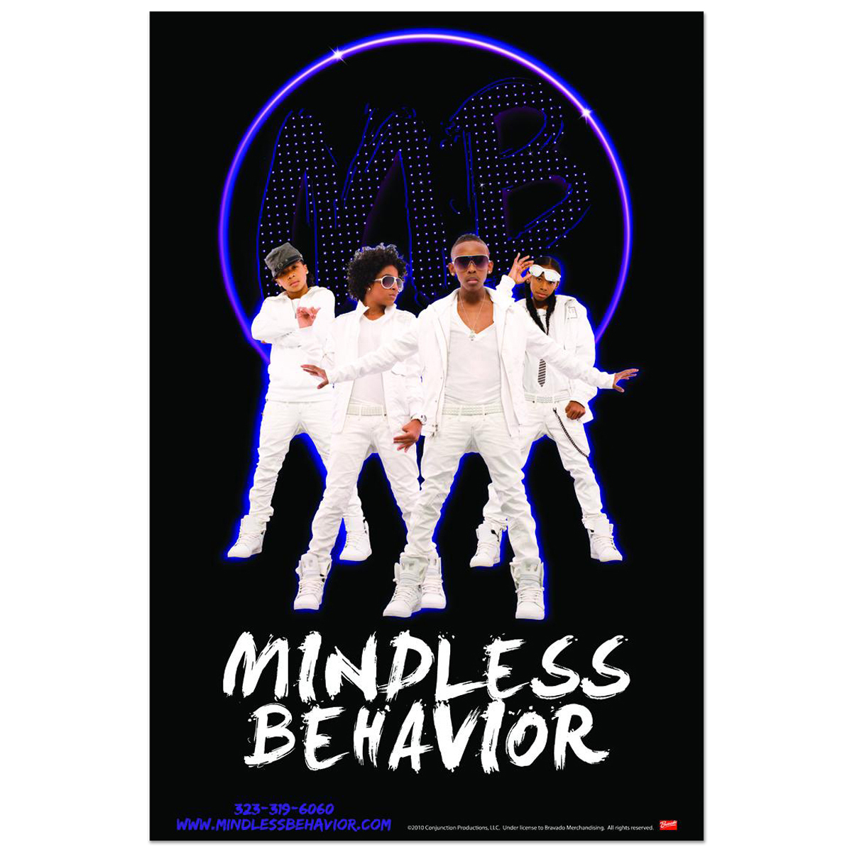 Mindless Behavior Light Poster