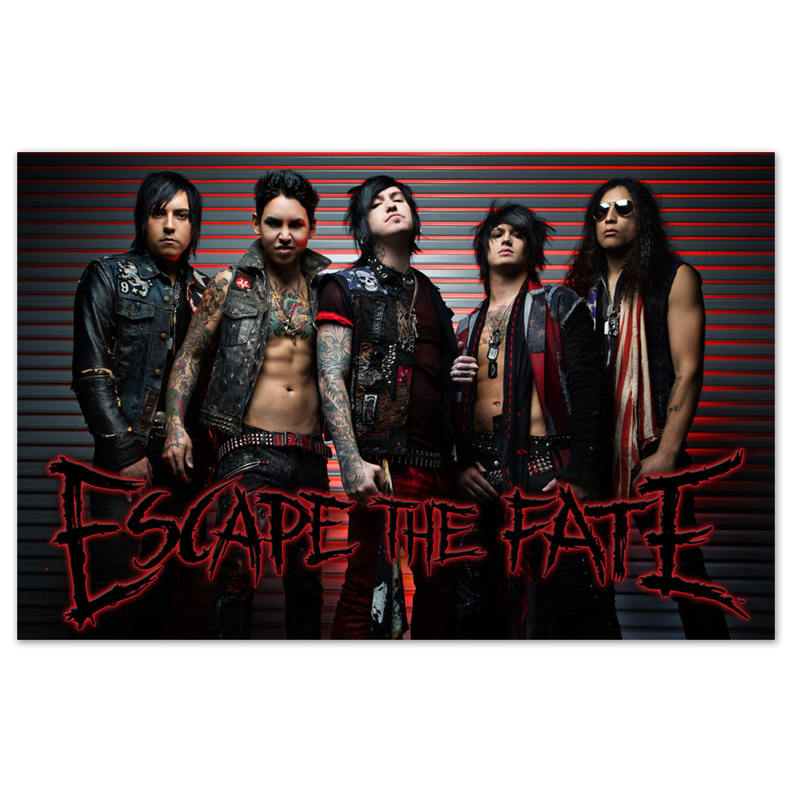 Escape the Fate Ungrateful Poster