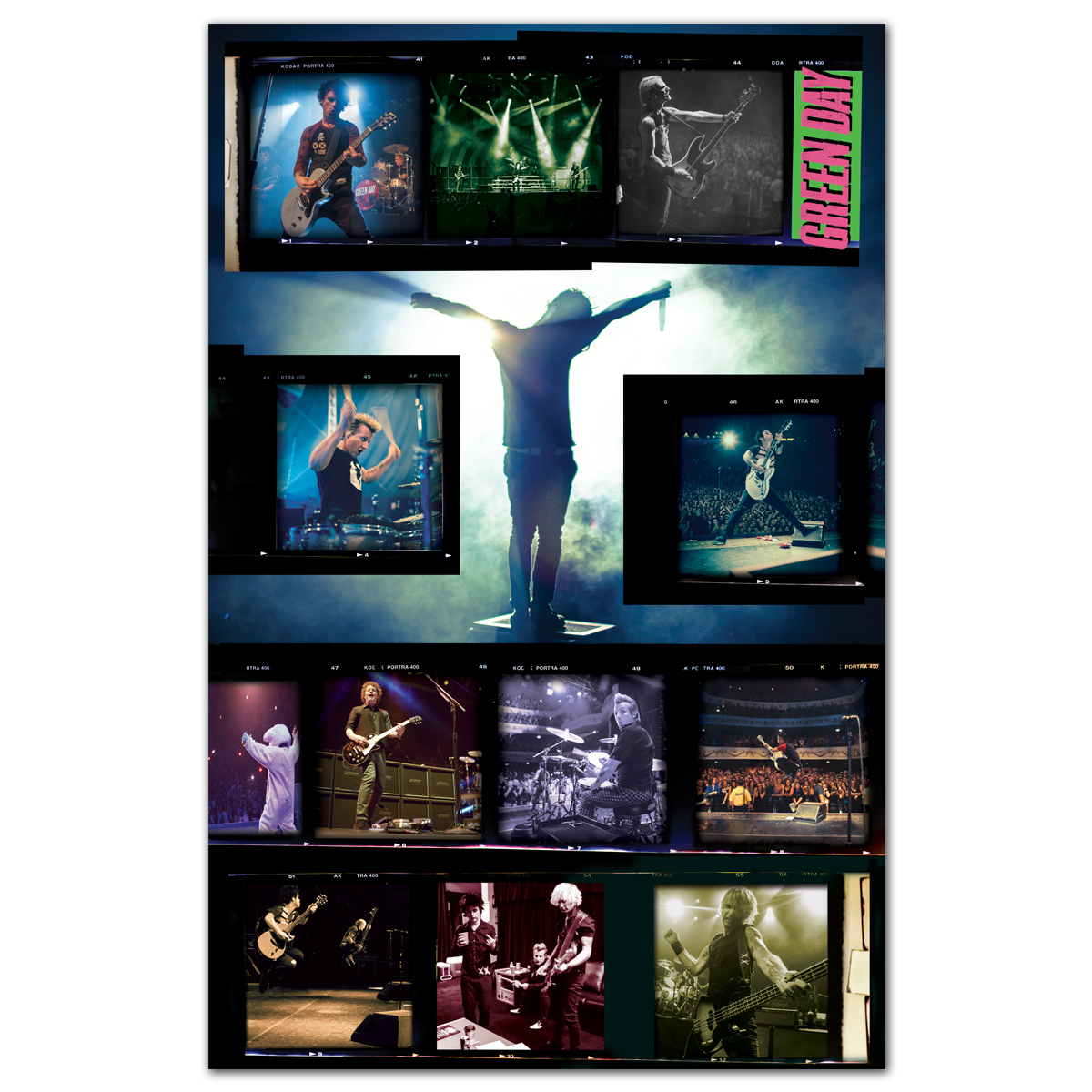 Green Day Live Poster 2013