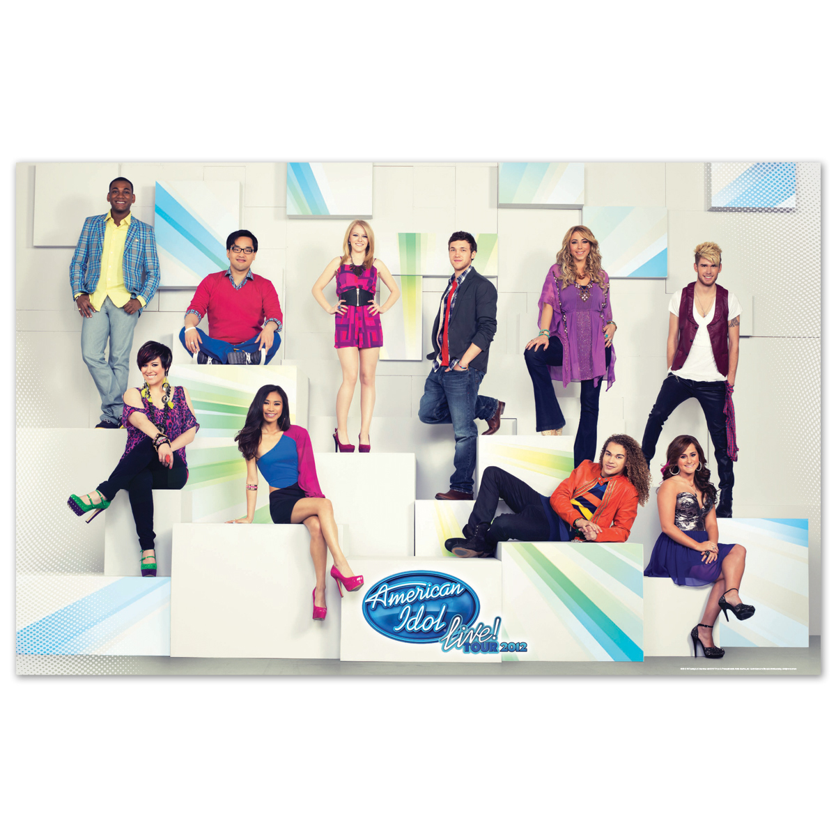 American Idol Live 2012 Wall Poster