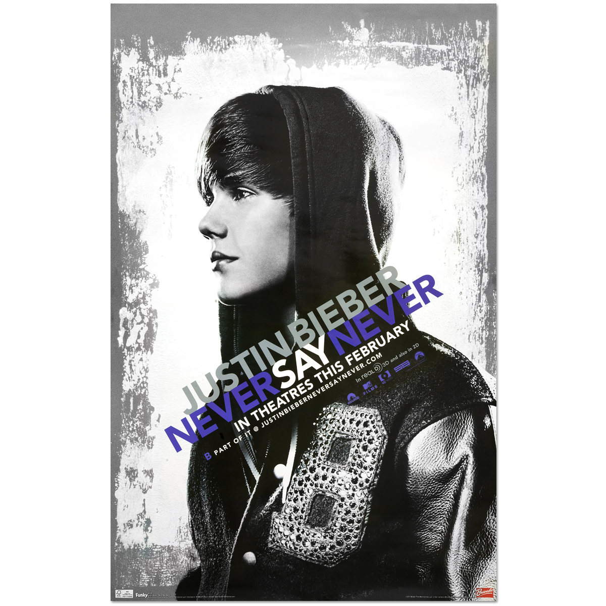 Justin Bieber Never Say Never Poster