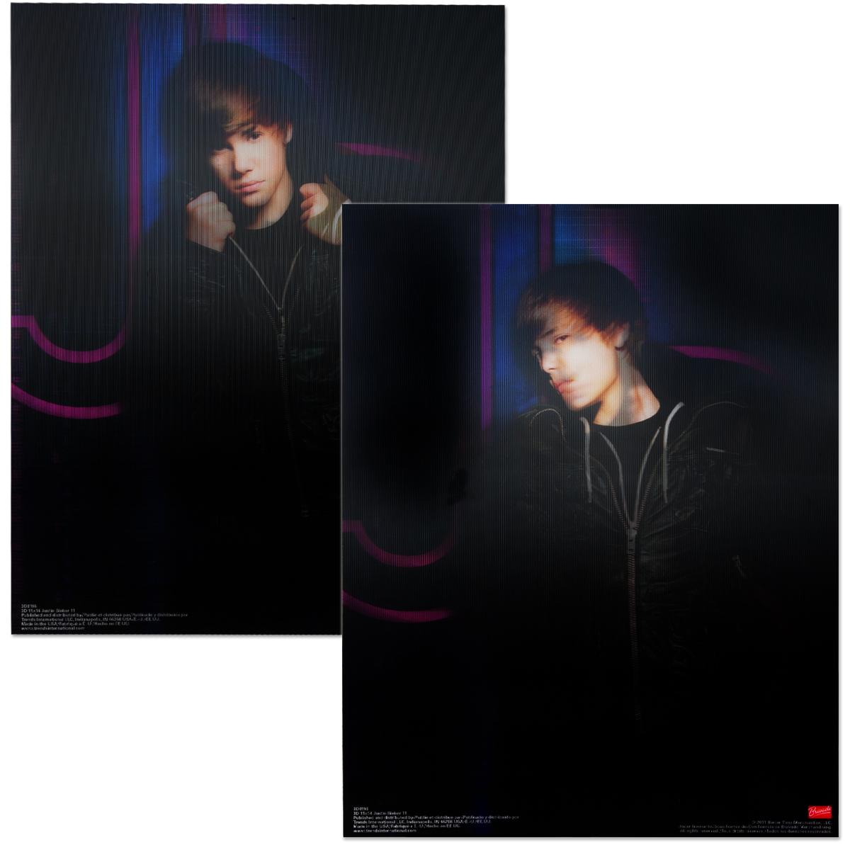 Justin Bieber 11x14 3D Print