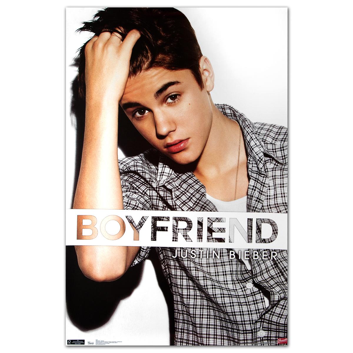 Justin Bieber Boyfriend Poster
