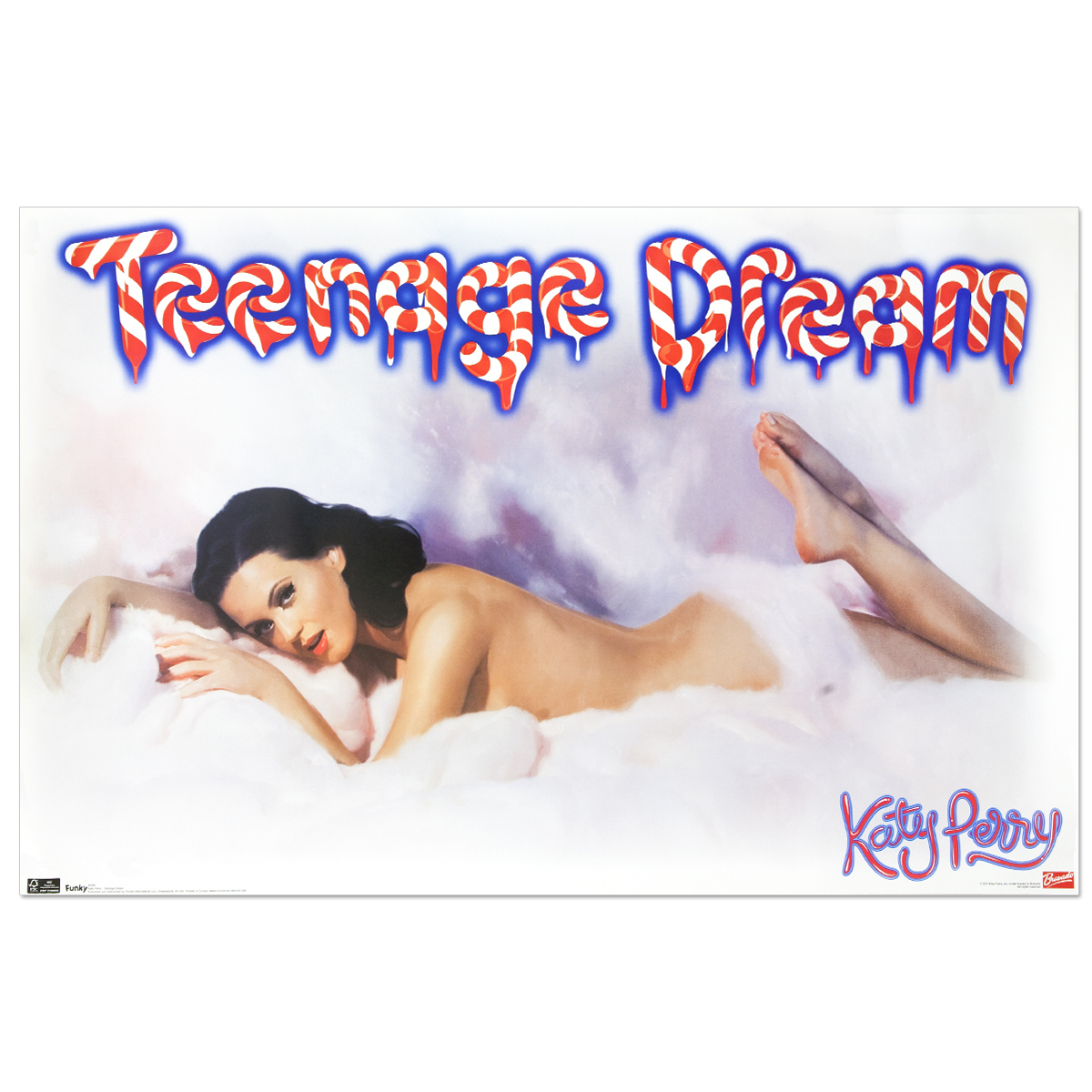 Katy Perry Teeange Dream Cloud Poster