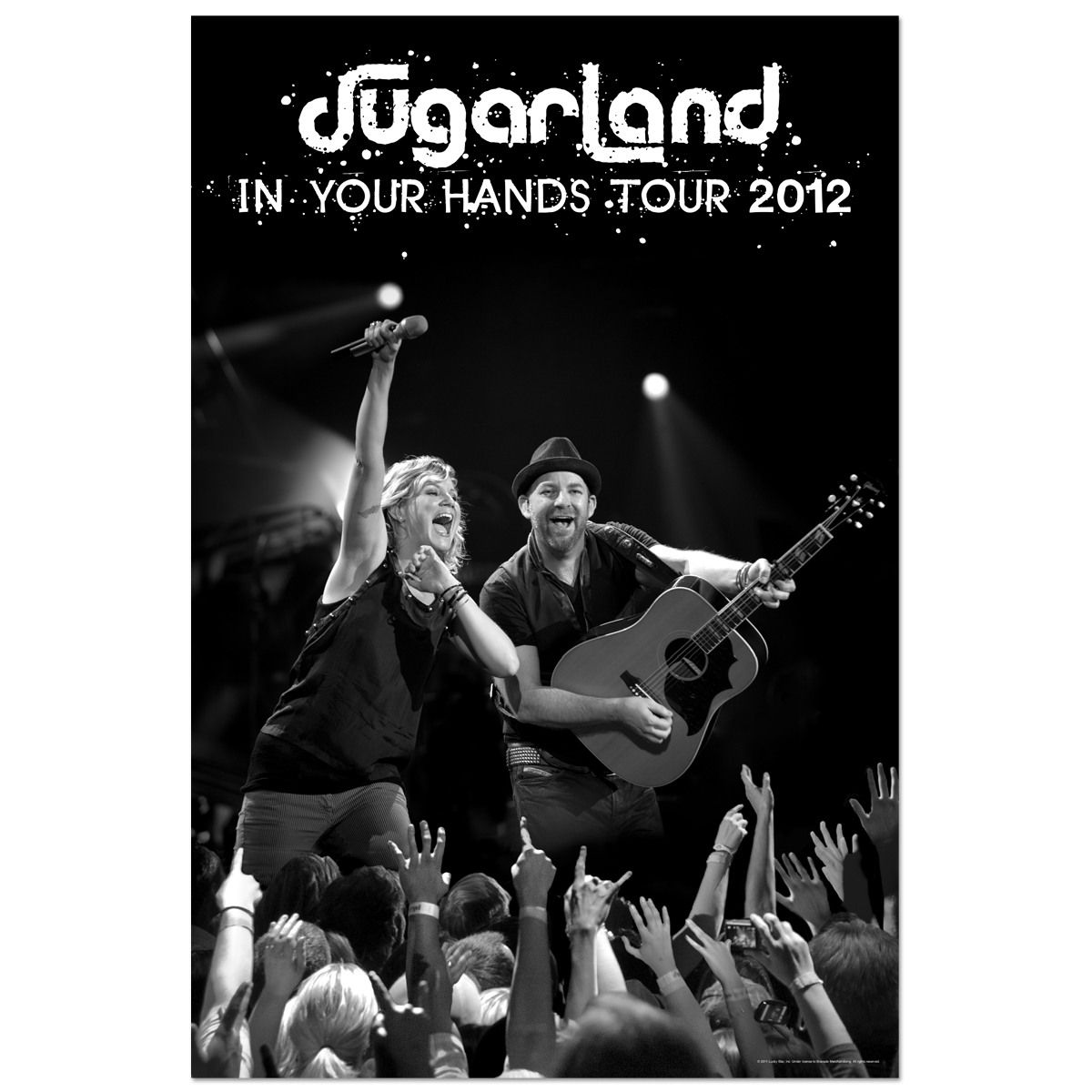 Sugarland 2012 Live Action Poster