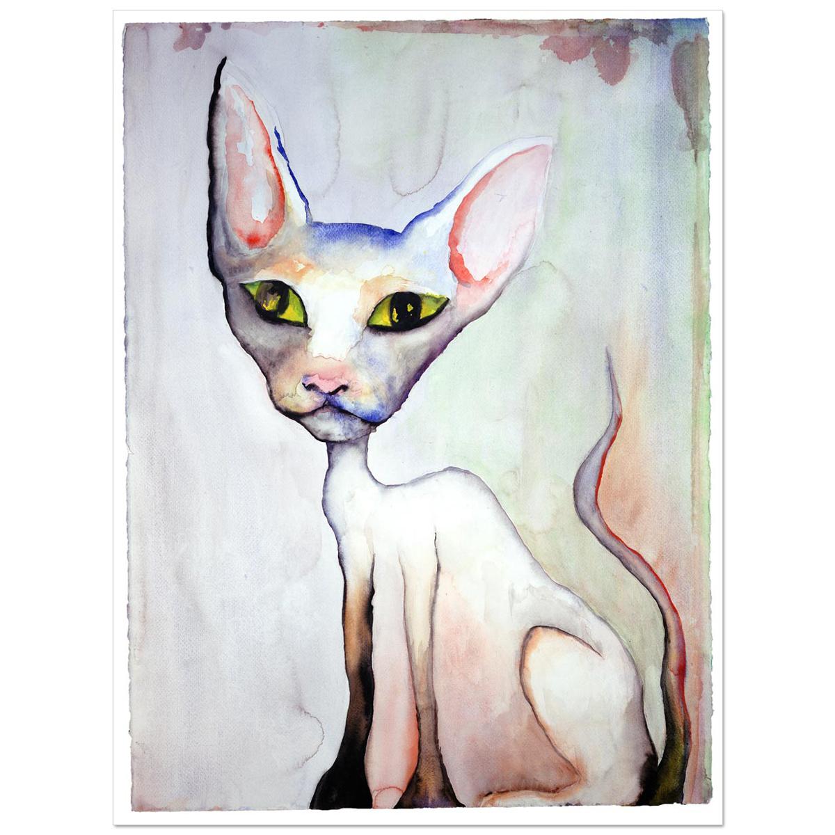 Lily White Print