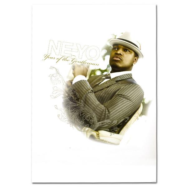 Ne-Yo Filigree Poster