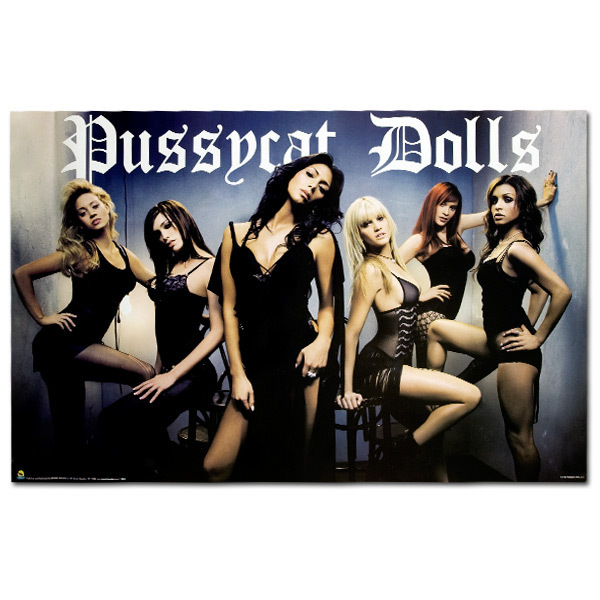 Pussycat Dolls Black Poster