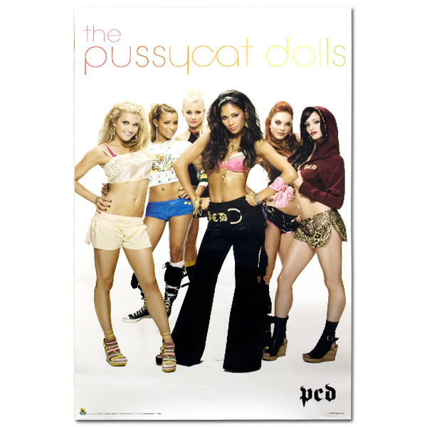 Pussycat Dolls White Poster