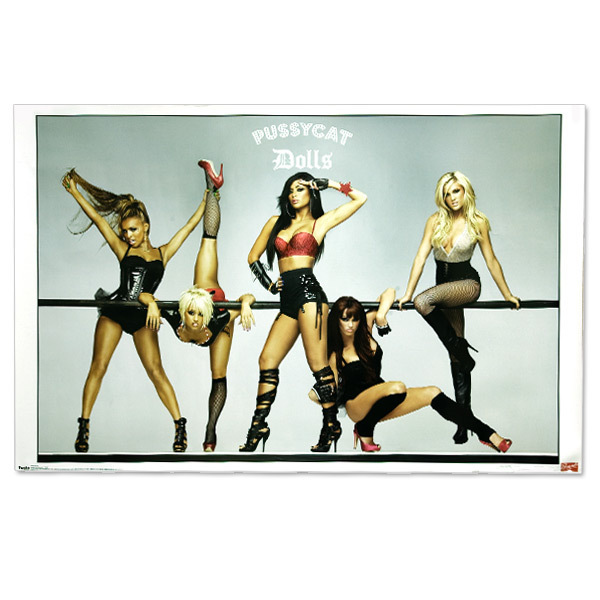 Pussycat Dolls Burlesque Pose Poster