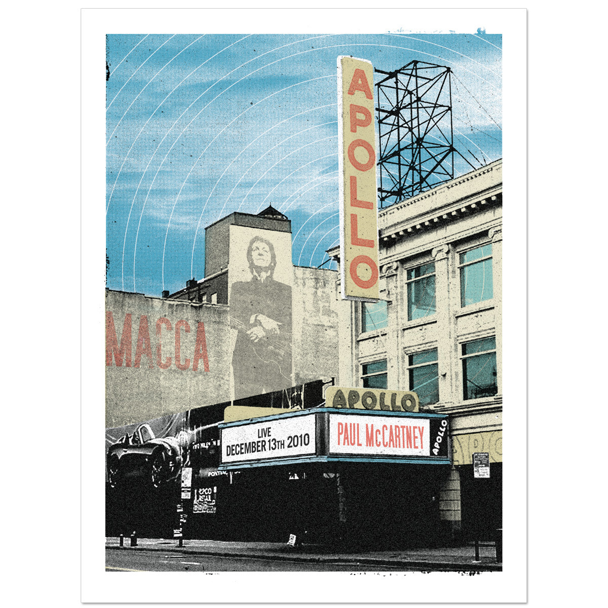 Paul McCartney Street View Litho
