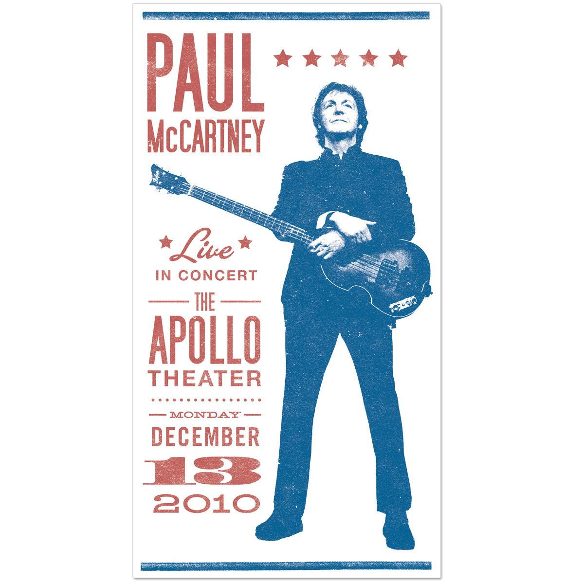Paul McCartney Classic Showbill Litho