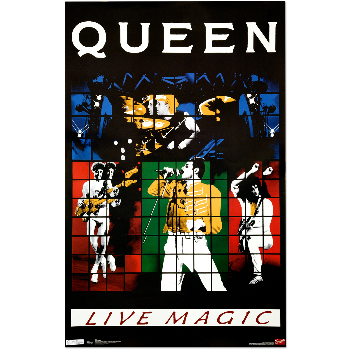 Queen Live Magic Poster