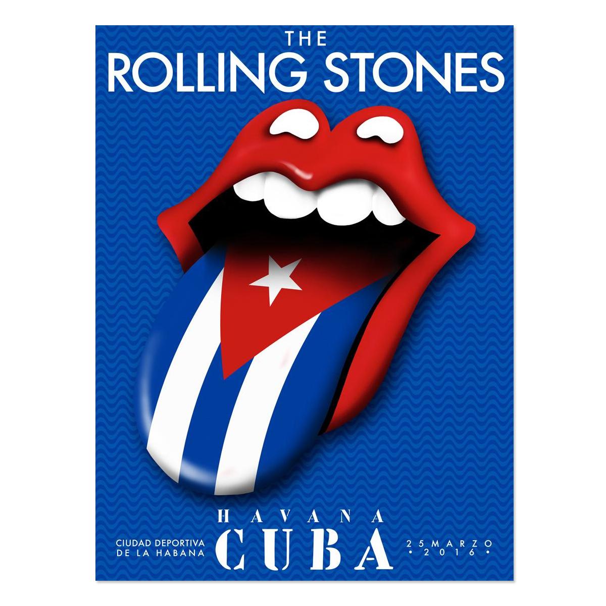 RS Cuba Flag Tongue Lithograph
