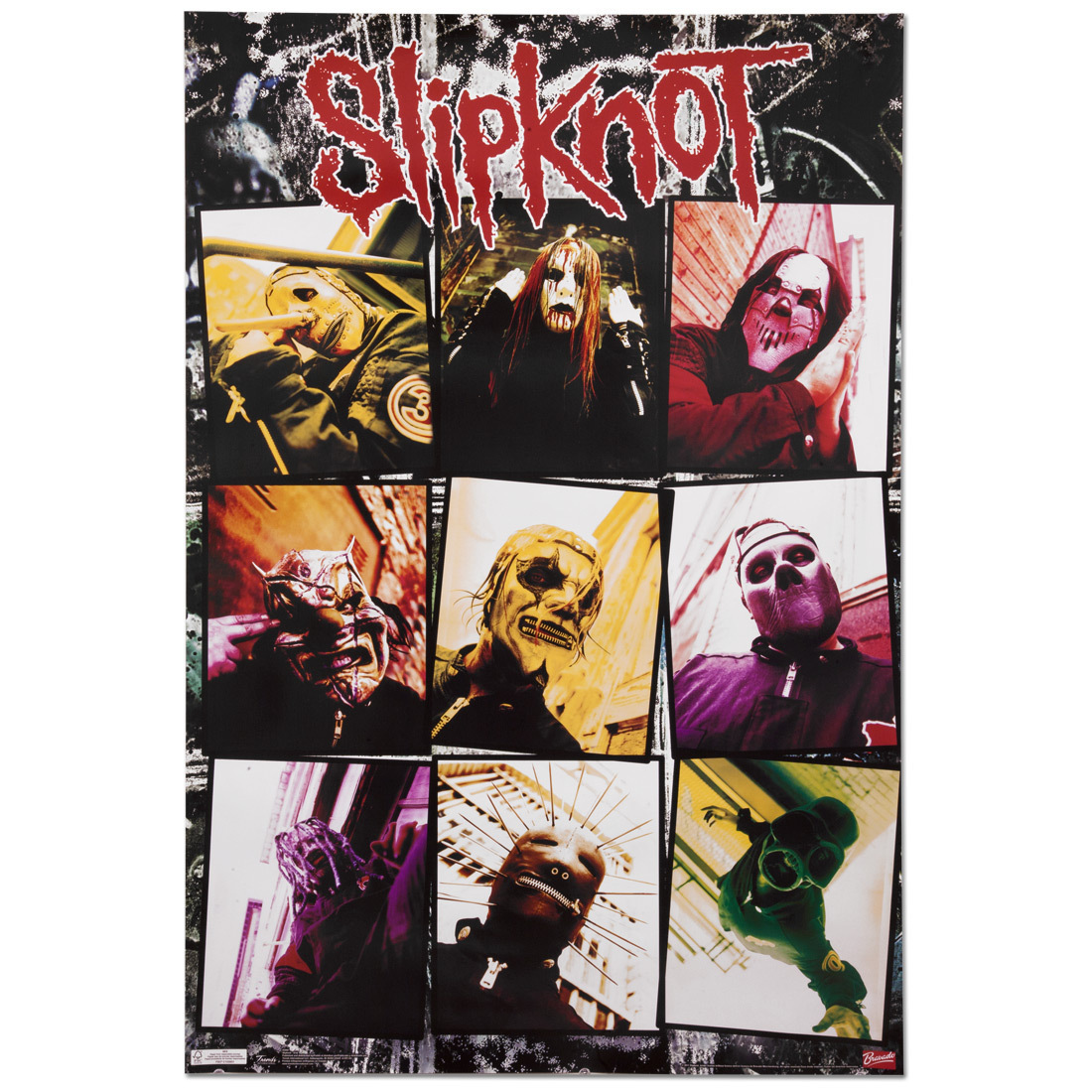Slipknot Grid Poster