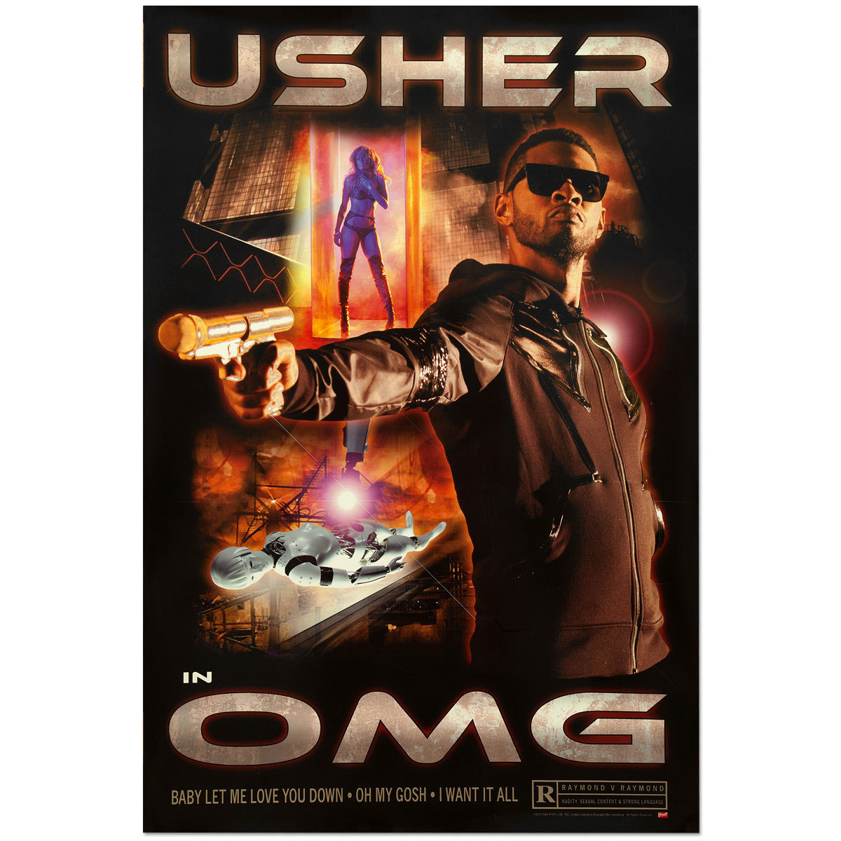 Usher OMG Movie Poster