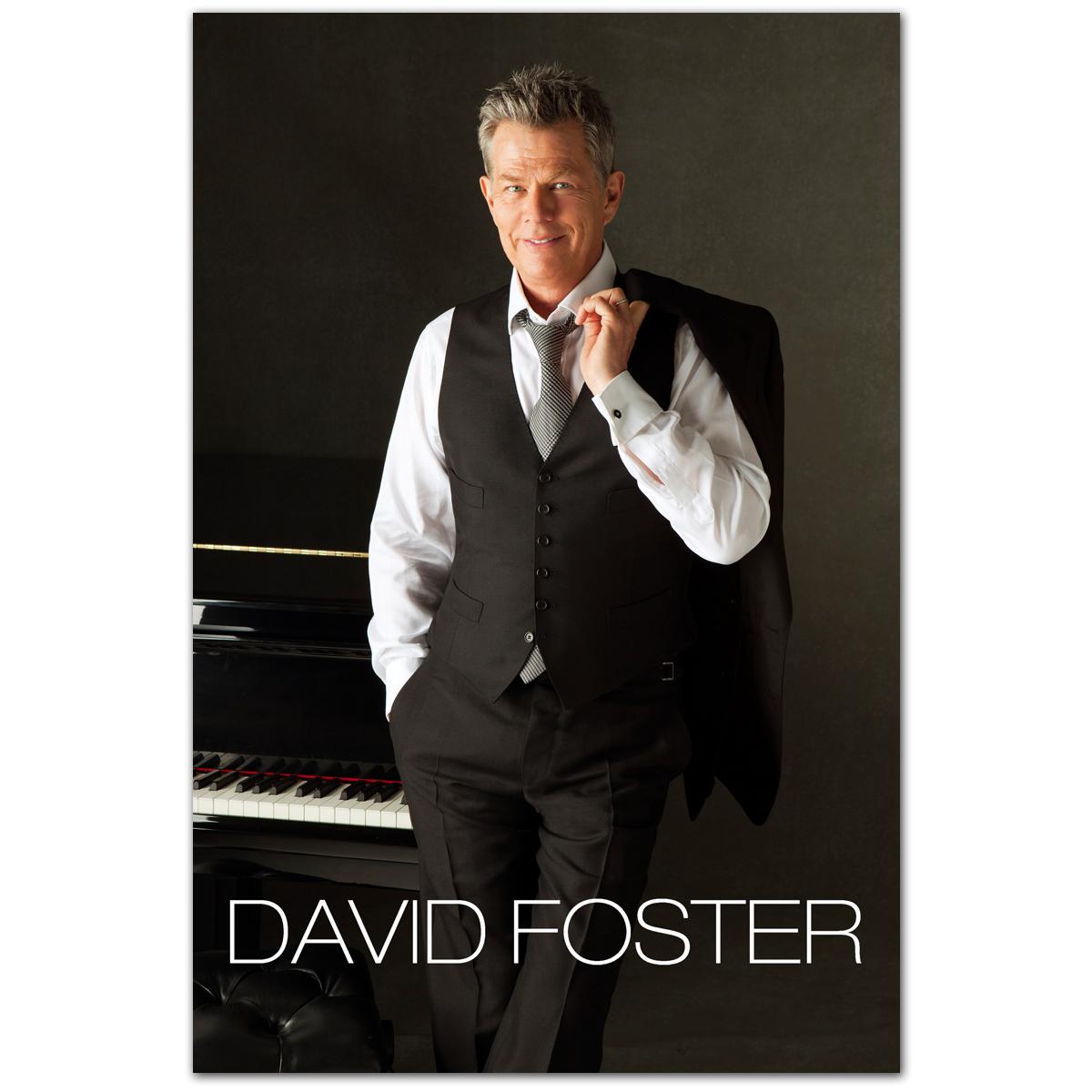 "David Foster Piano 8x10"" Photo"