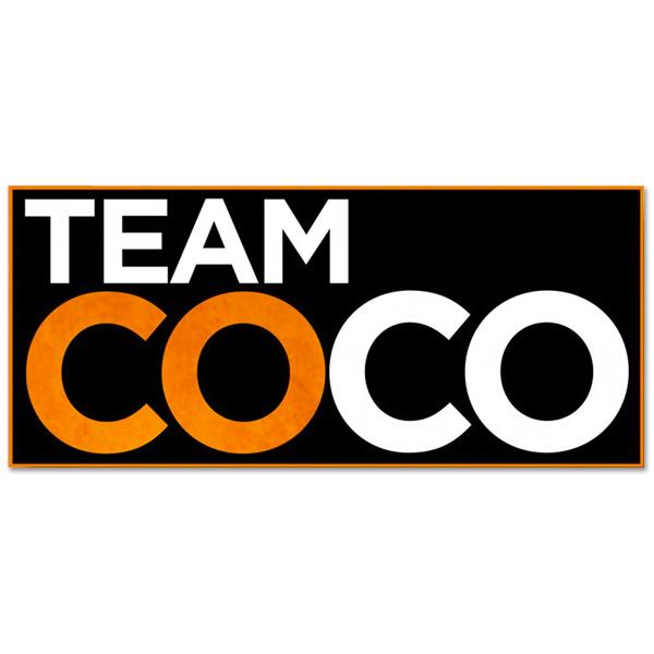 Conan O'Brien Team Coco Sticker
