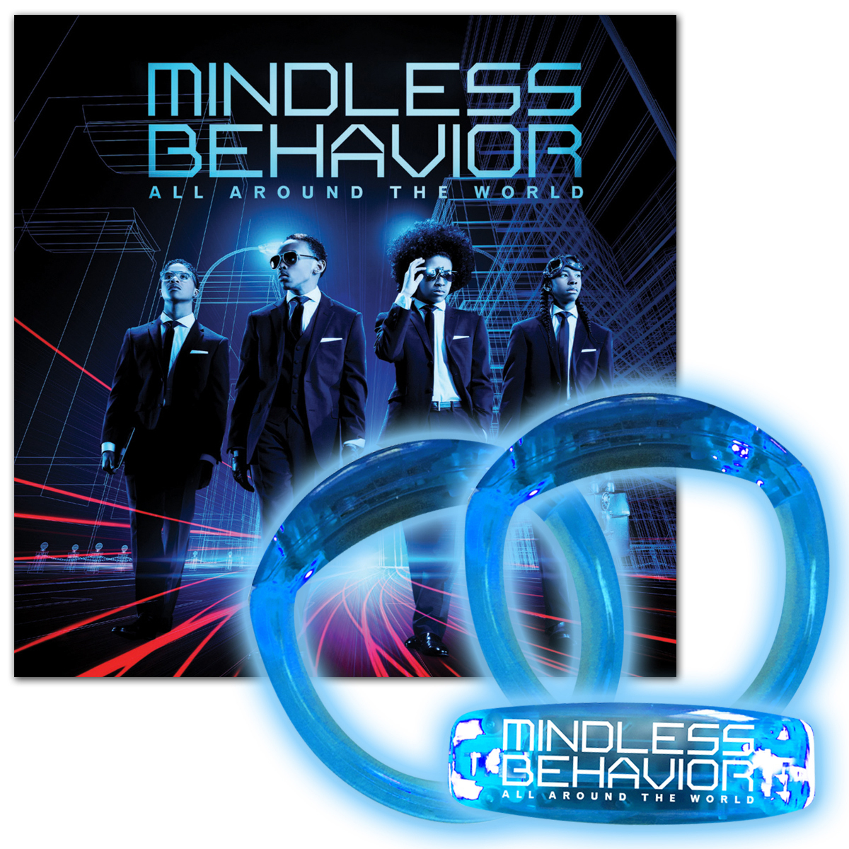 Mindless Behavior CD/Bracelet Bundle