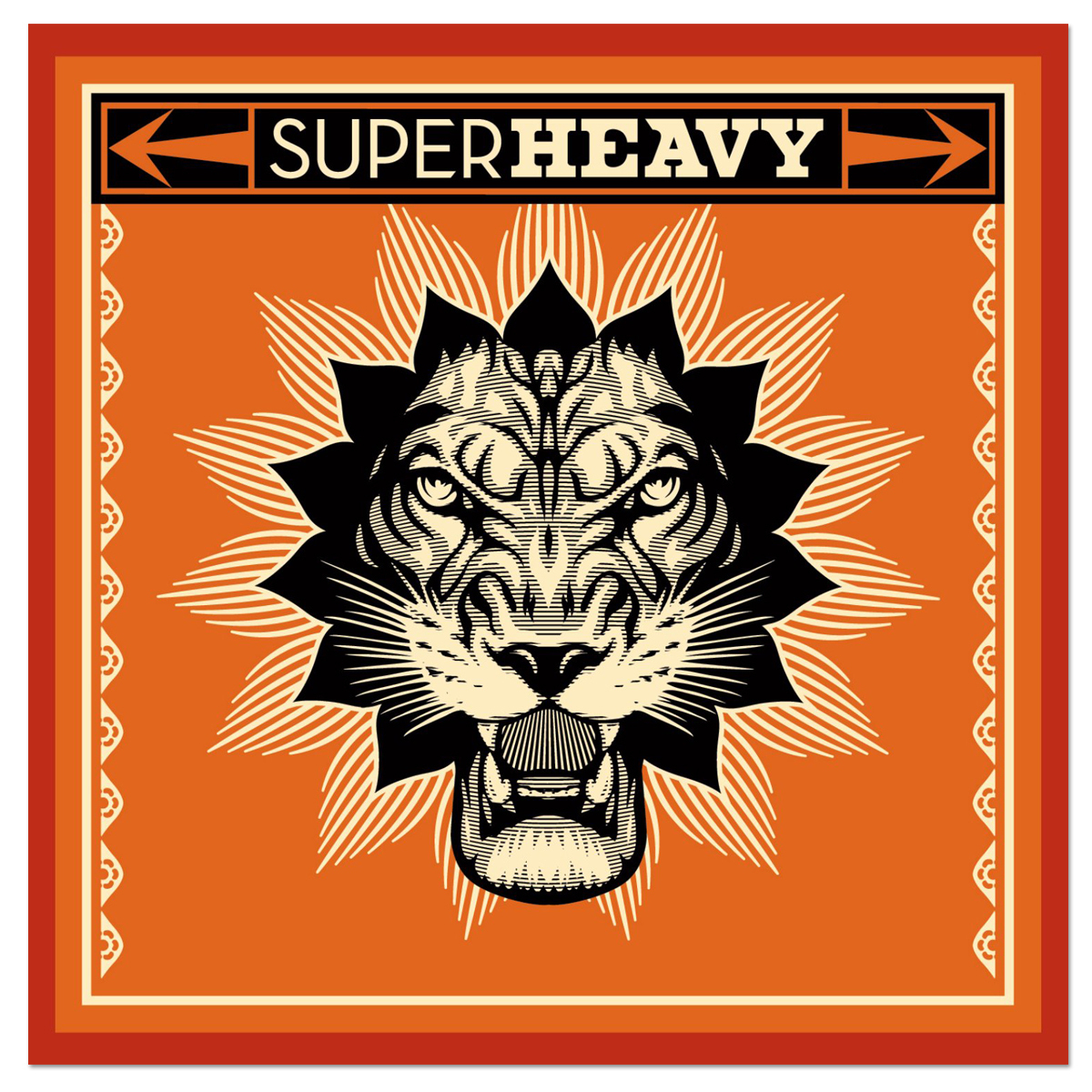 SuperHeavy - SuperHeavy CD