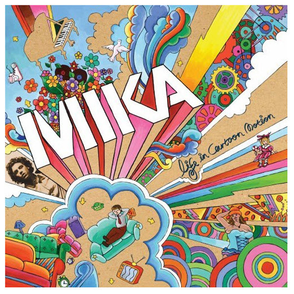 Mika Life in Cartoon Motion CD