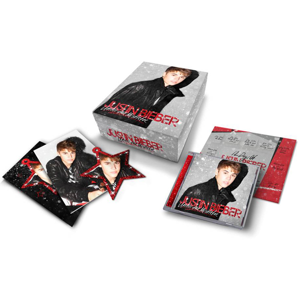 Justin Bieber Under The Mistletoe Ultimate Gift Box