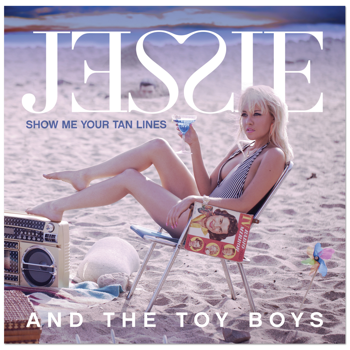 Jessie and the Toy Boys - Show Me Your Tan Lines EP CD
