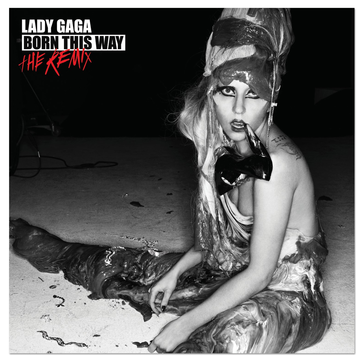 Lady Gaga - Born This Way - The Remix CD