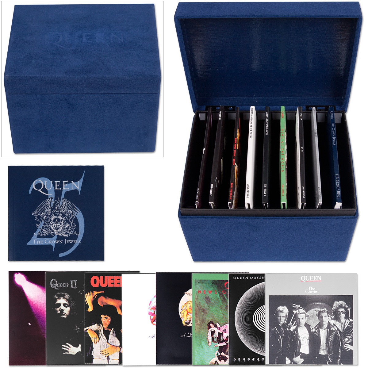 Queen - The Crown Jewels 8 CD Box Set