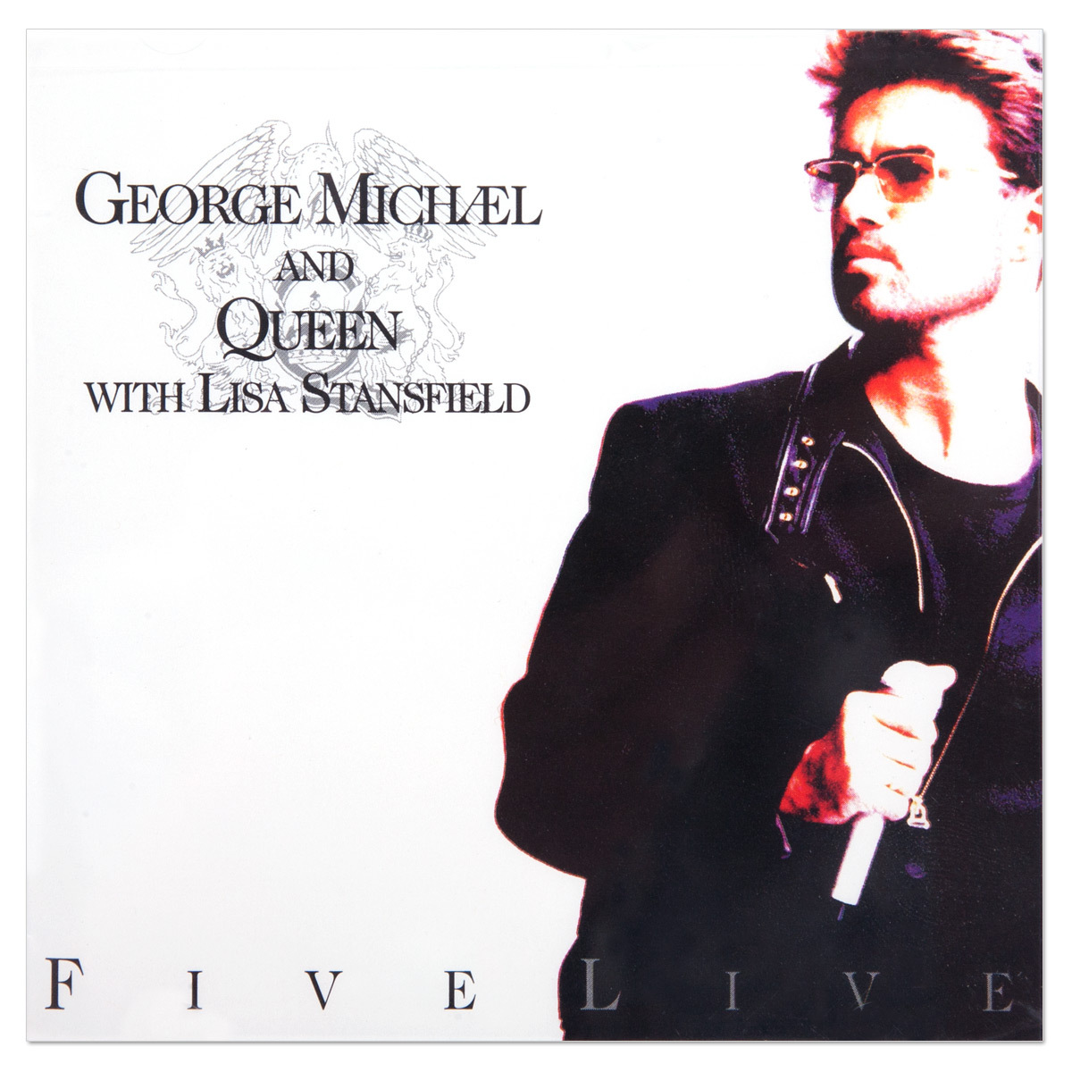 George michael amp queen five live cd musictoday superstore