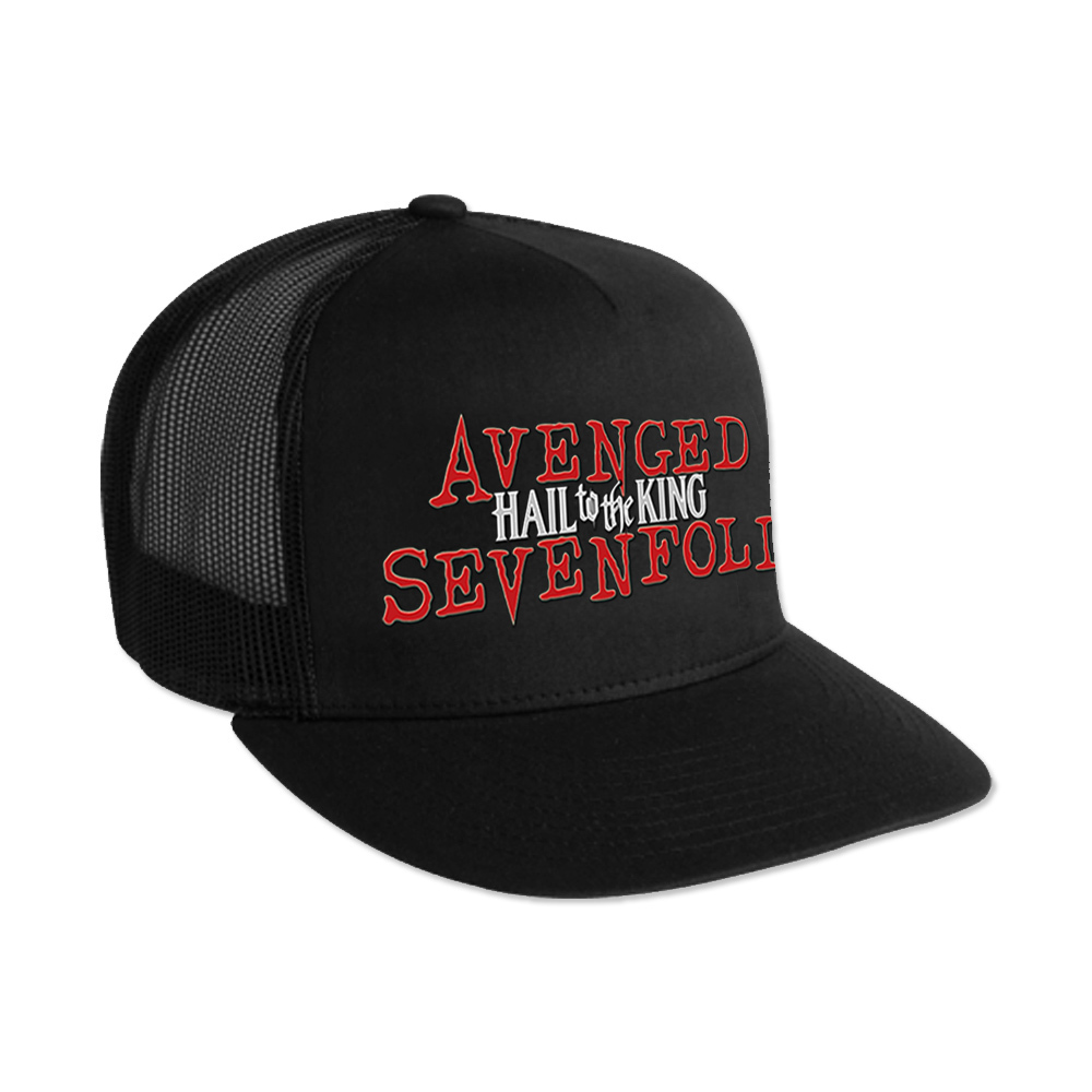 Avenged Sevenfold Hail To The King  Trucker Hat