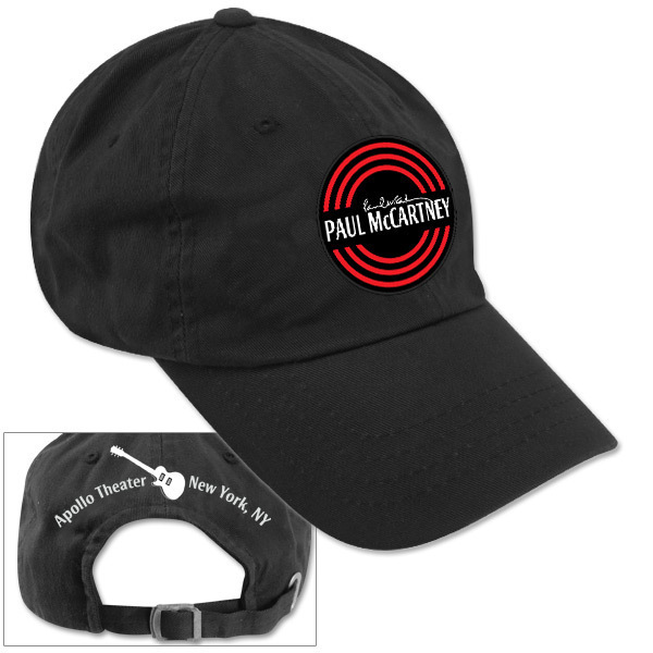 Paul McCartney Apollo O Distressed Hat