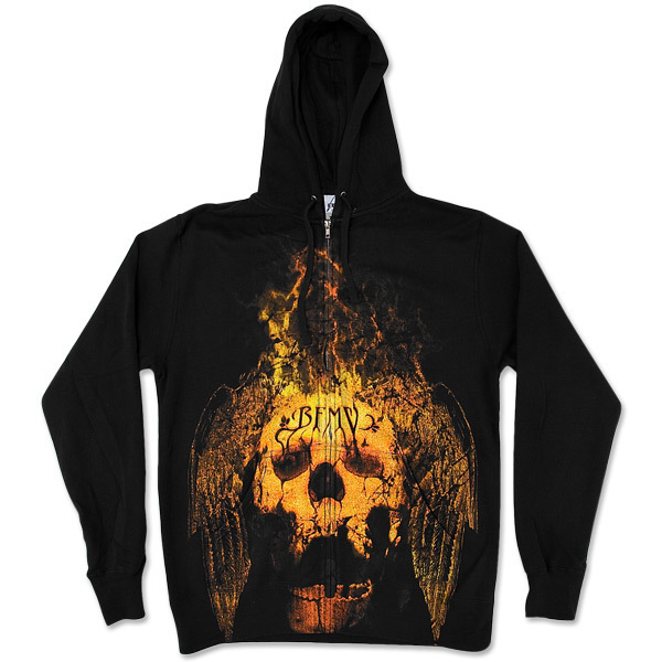 Bullet for My Valentine Winged Skullfire Zip Hoodie