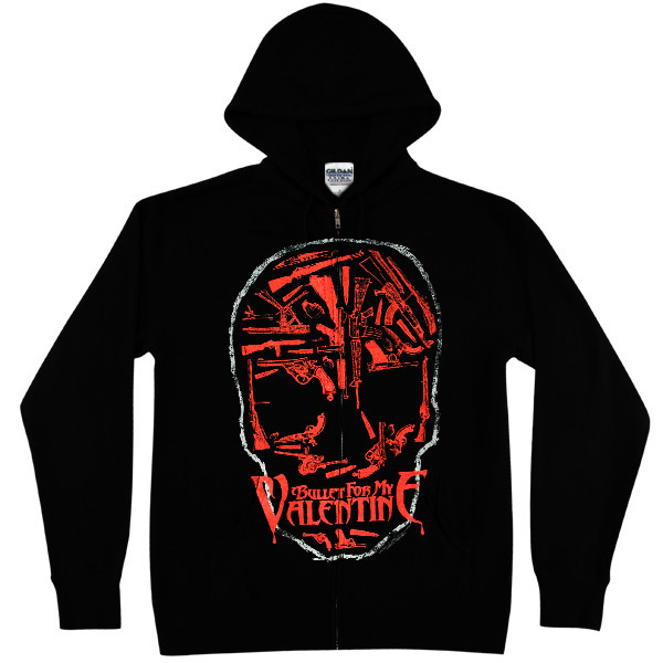 Bullet for my Valentine Weapons Skull Zip Hoodie