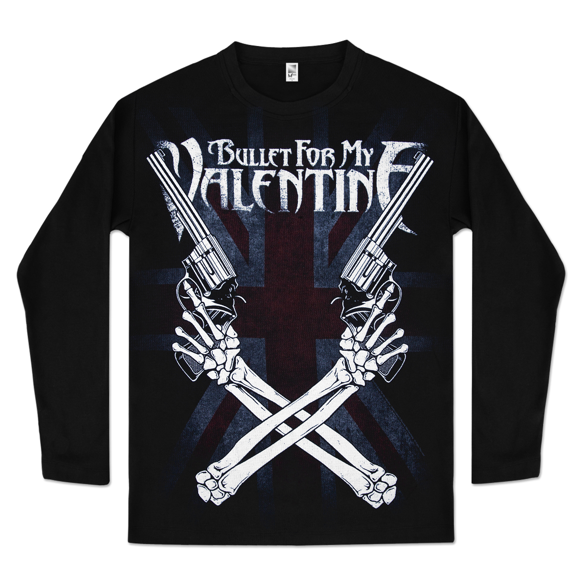 Bullet For My Valentine Cross Guns Thermal