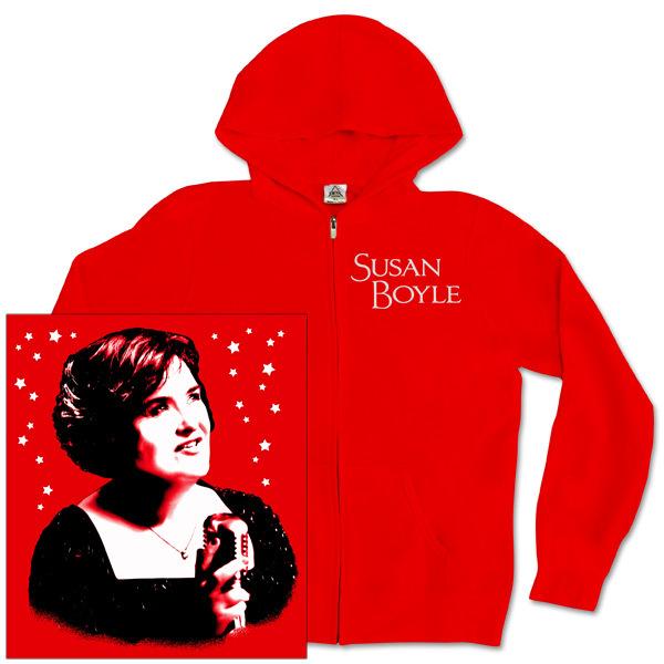 Susan Boyle Starstruck Zip Hoodie