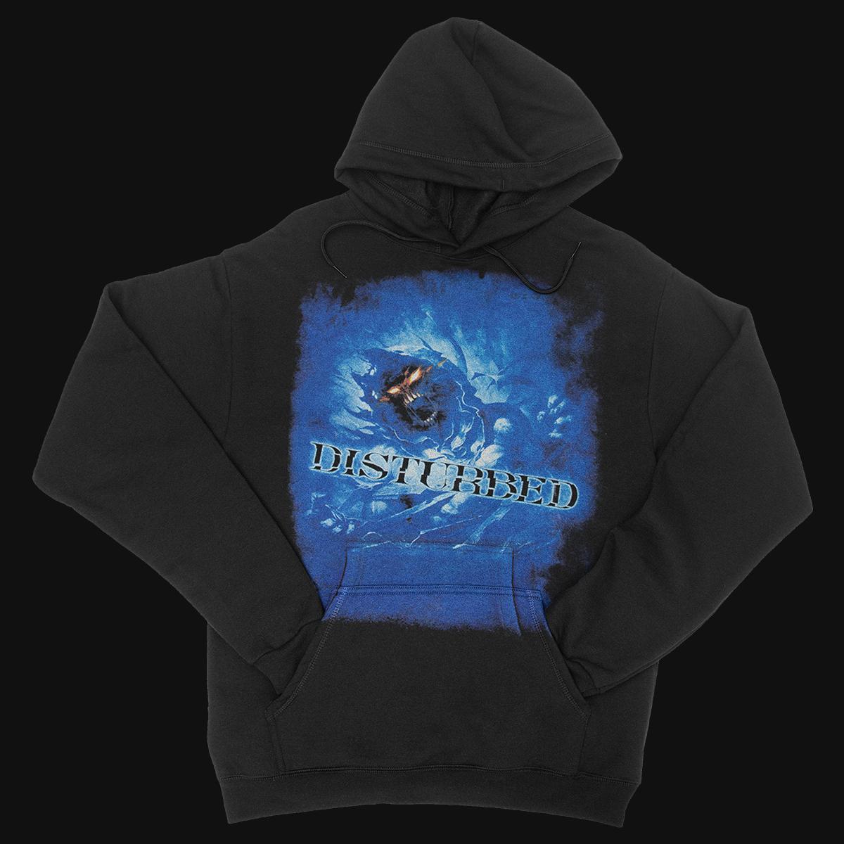 Disturbed Blue Face Hoodie