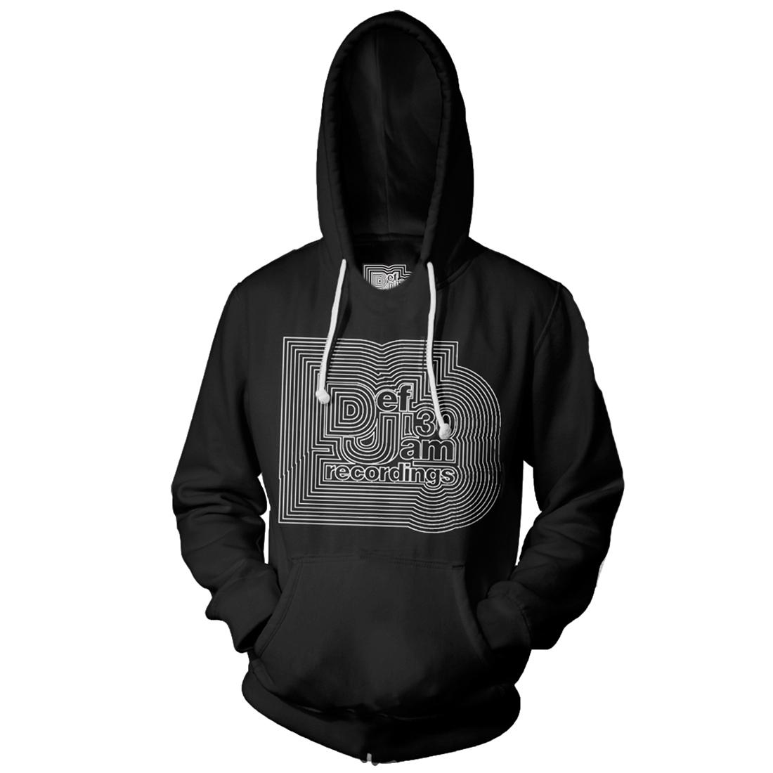 Def Jam 30 Logo Hoodie