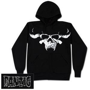 Danzig Skull Hoodie