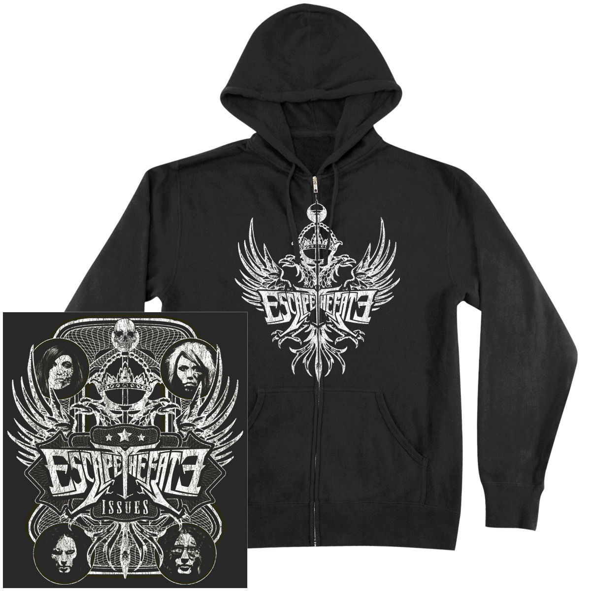 Escape the Fate Issues Hoodie