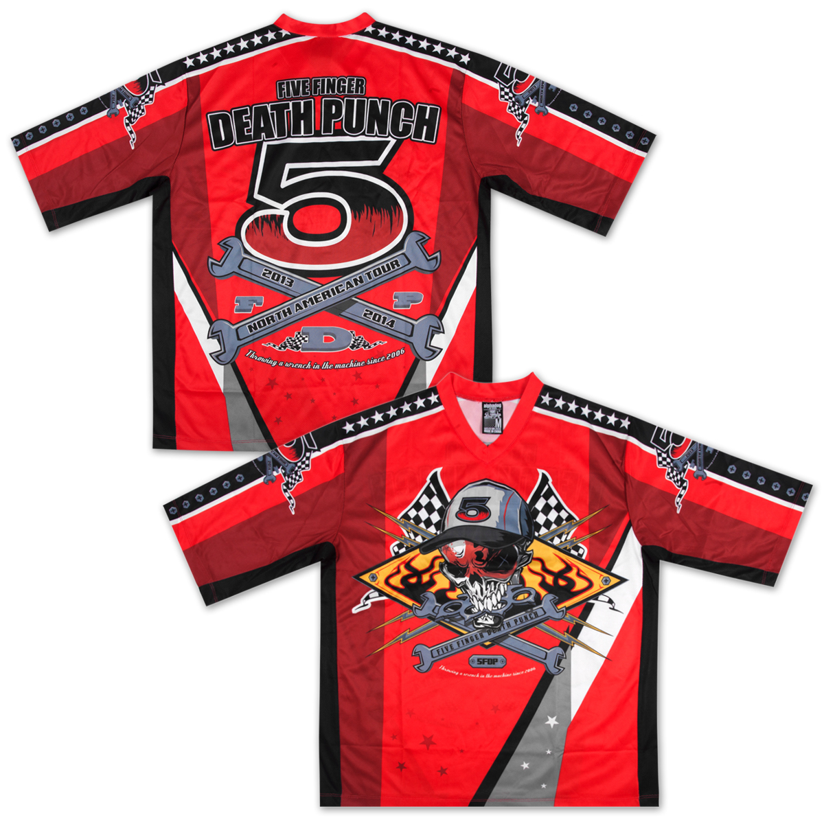 Five Finger Death Punch - 5FDP Paintball Jersey
