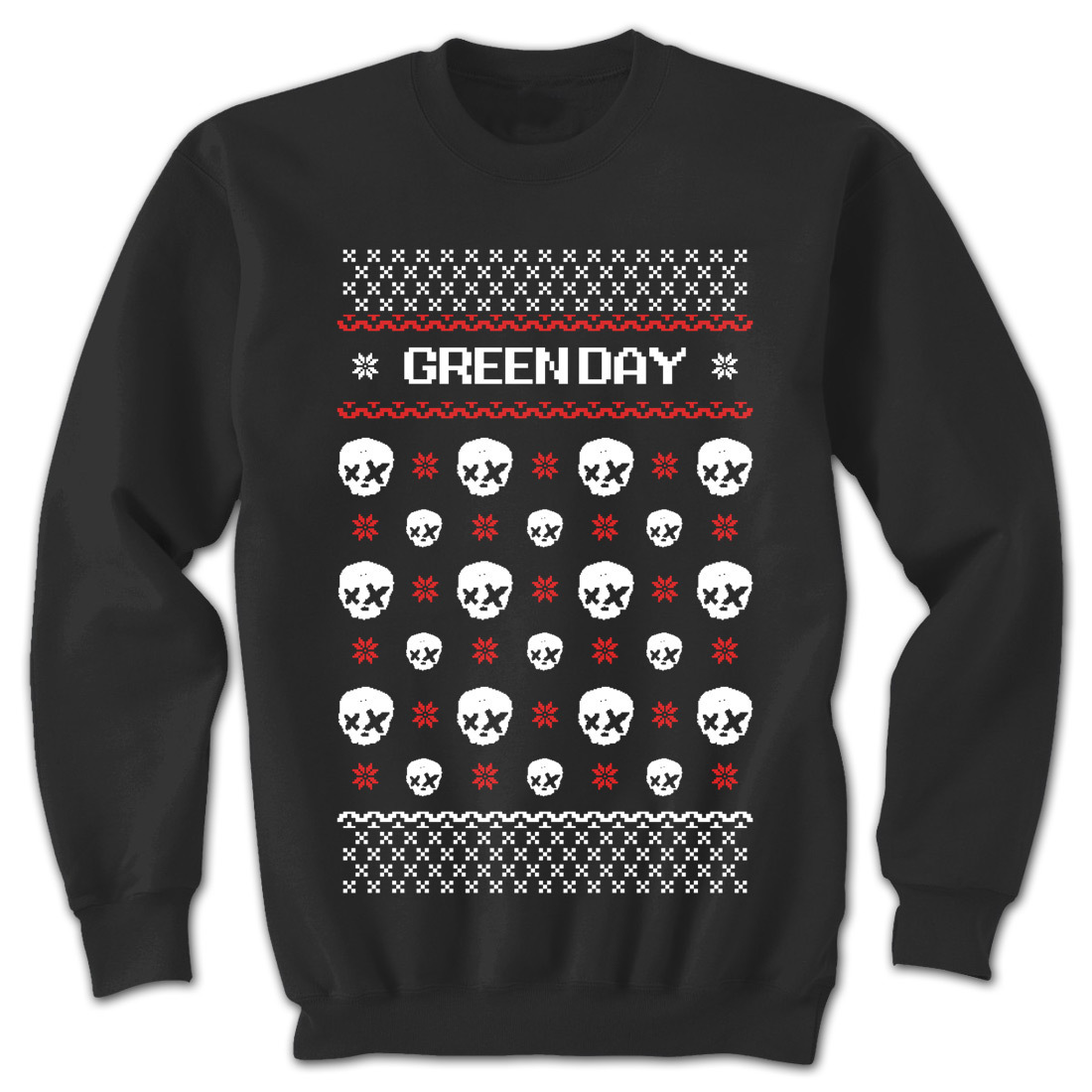 Green Day Ugly X-Mas Sweatshirt