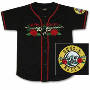 Guns N' Roses Pistols Baseball Jersey