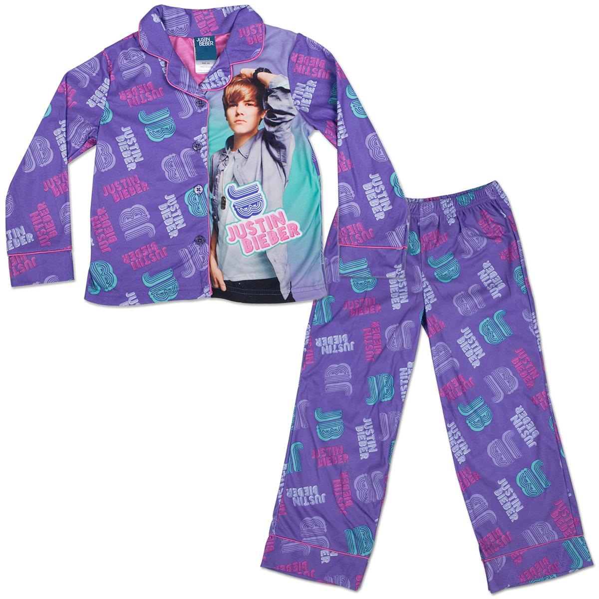 Justin Bieber Bieber Fever Coatstyle Kids' Pajama Set