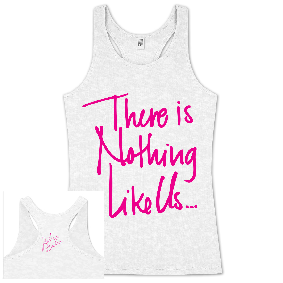 Justin Bieber Nothing Like Us Juniors Tank