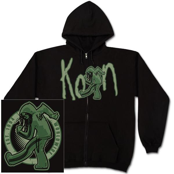 Korn Zombie Slam Zip Hoodie